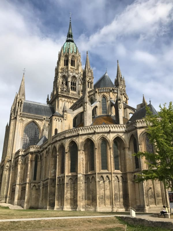 Cathedral Bayeux from Paris