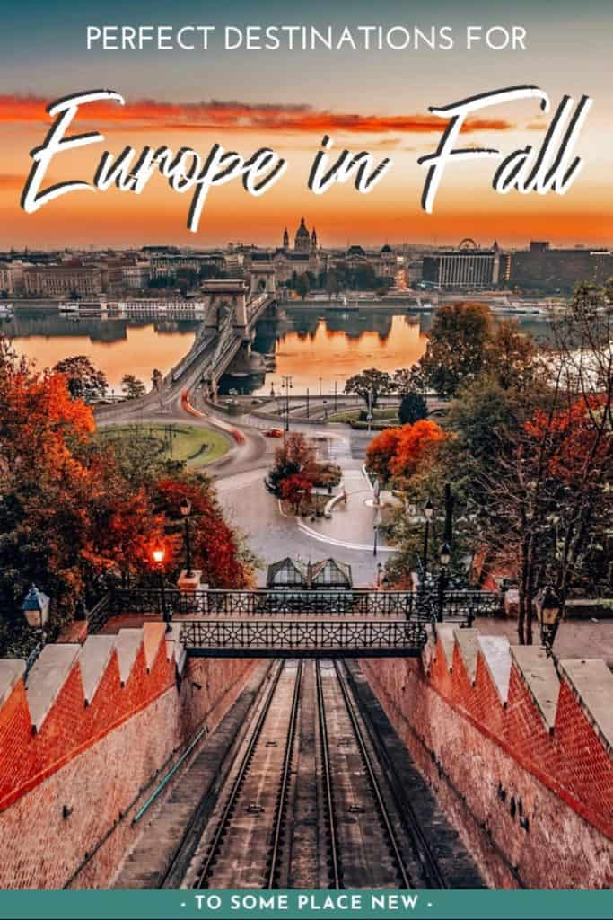 Scenes from Europe in the fall