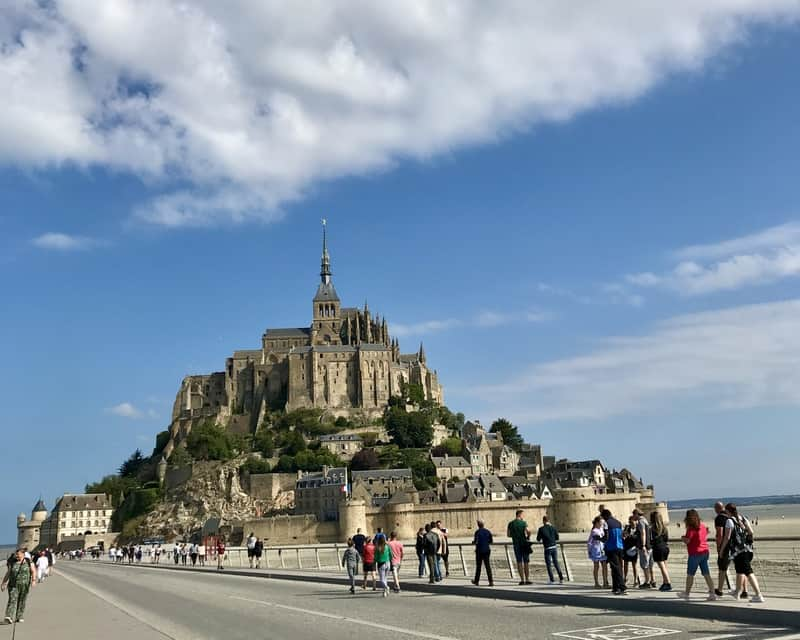 Mont Saint Michel Paris weekend trips