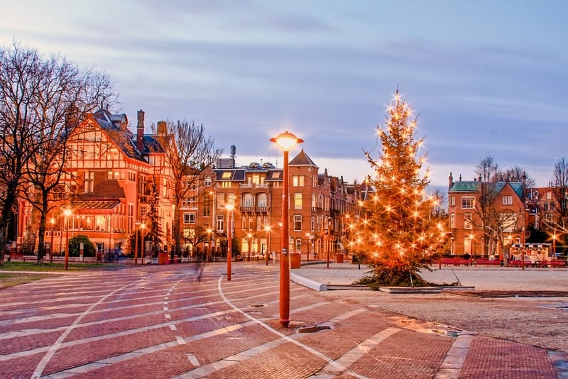 Spend Christmas in Amsterdam Europe