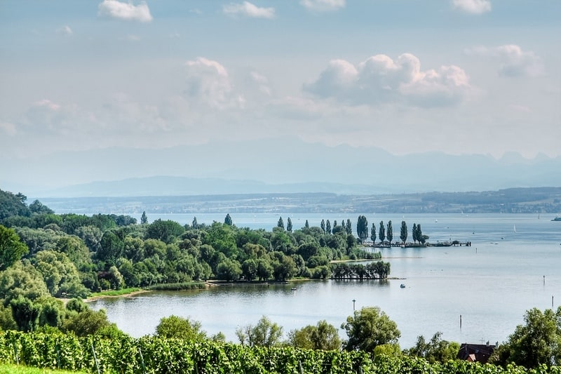 Panorama of Lake Constance