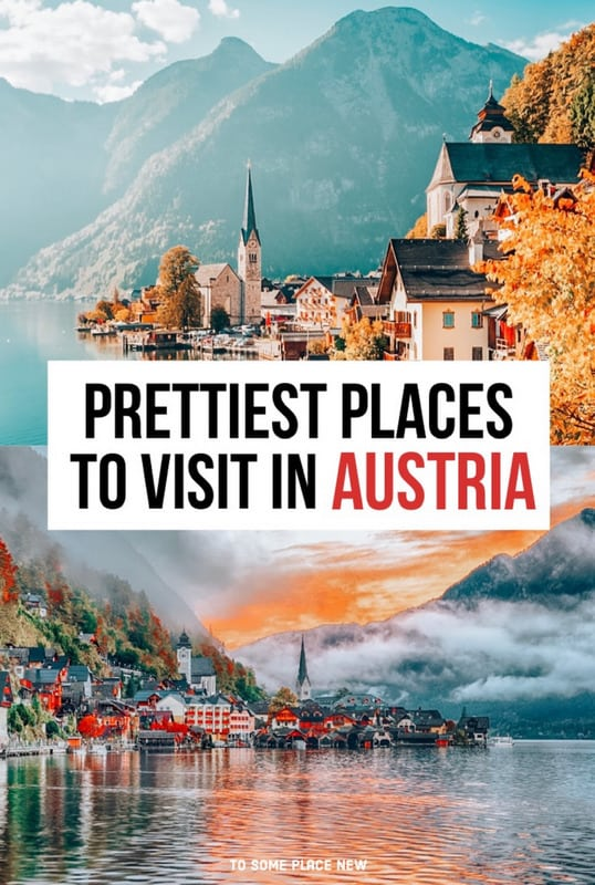 Pin for most beautiful places to visit in Austria