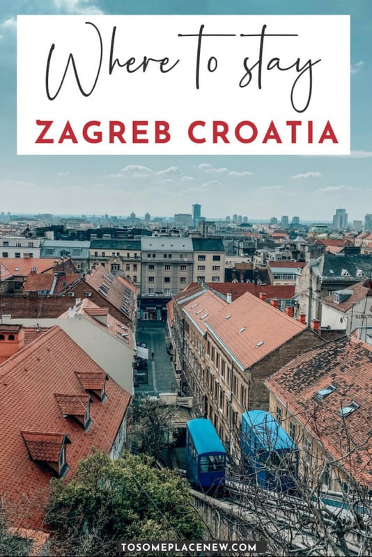 Pin for Where to stay in Zagreb