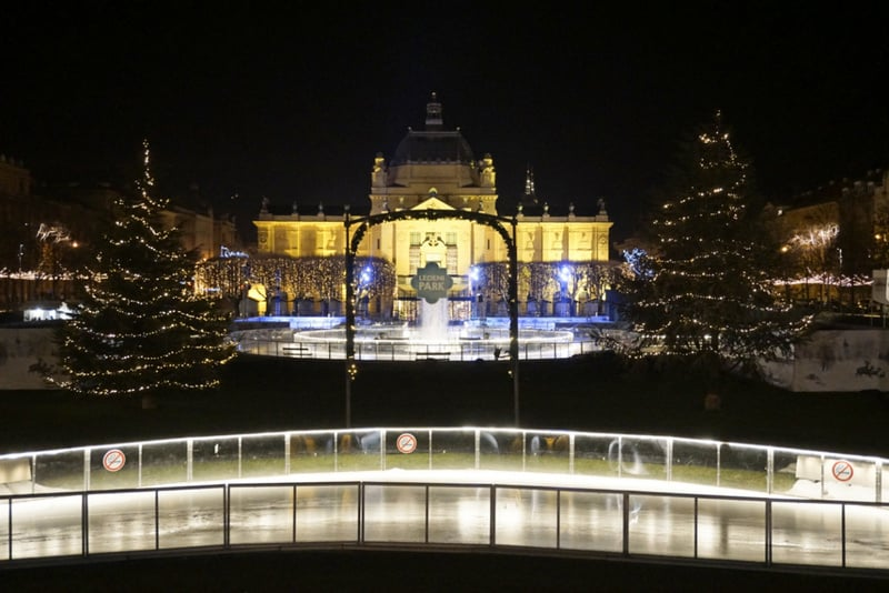 where to spend Christmas in Europe Zagreb, Croatia