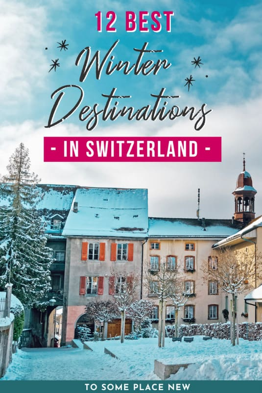 Pin for Switzerland Travel Winter Destinations