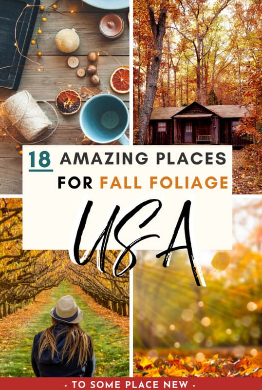 Pin for Best USA Fall destinations