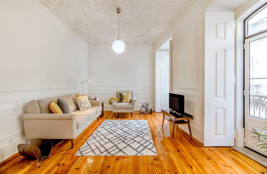 Living room of Casa Maria Helena - Bairro Alto