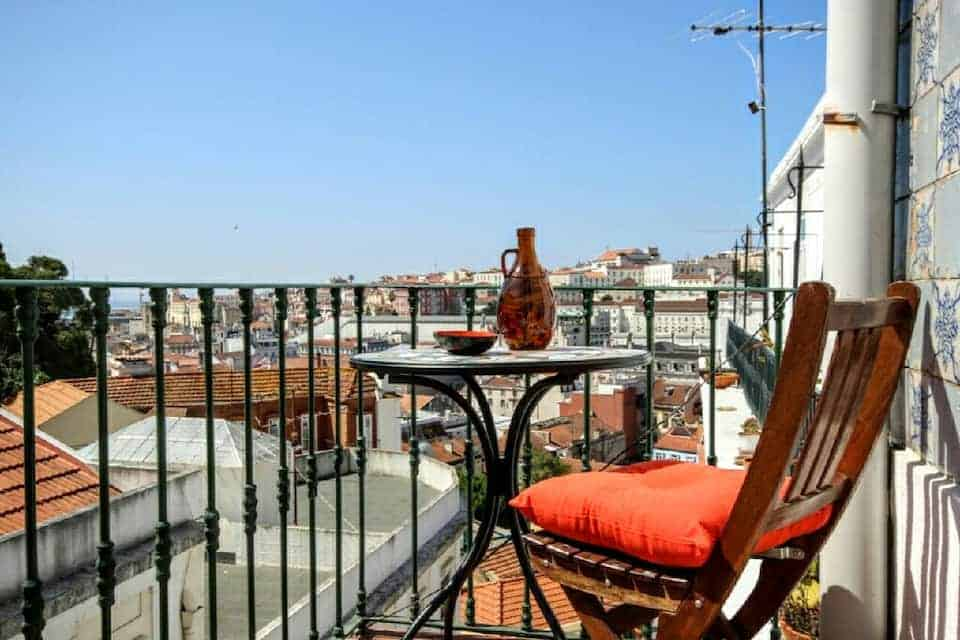Great view in Central Lisbon Airbnb Guide