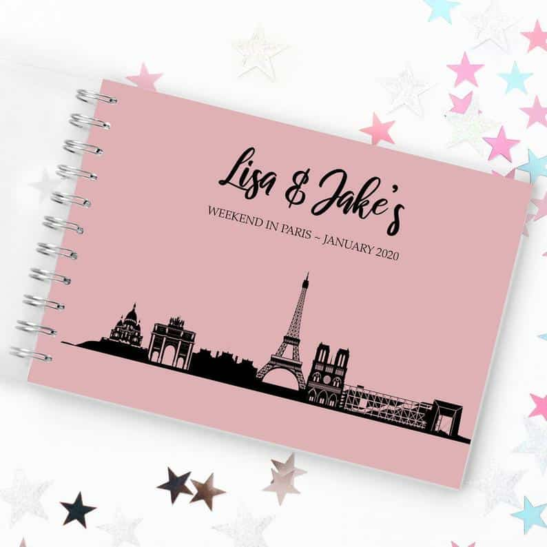 In need of Paris themed gifts for your loved one? Here is an expert guide to amazing Paris gifts for every occasion and budget.   Paris themed Journal