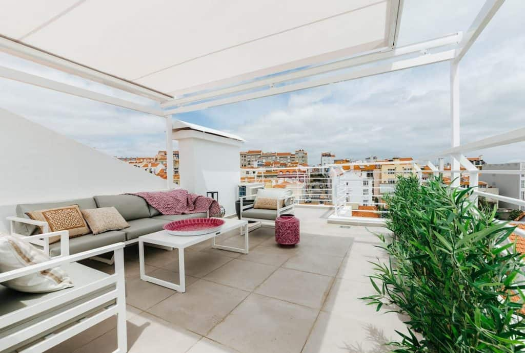 RiverView Terrace Apartment - Graca Lisbon Airbnbs