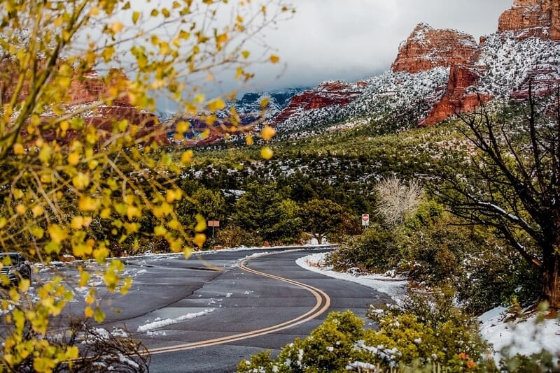 Sedona Arizona in the fall