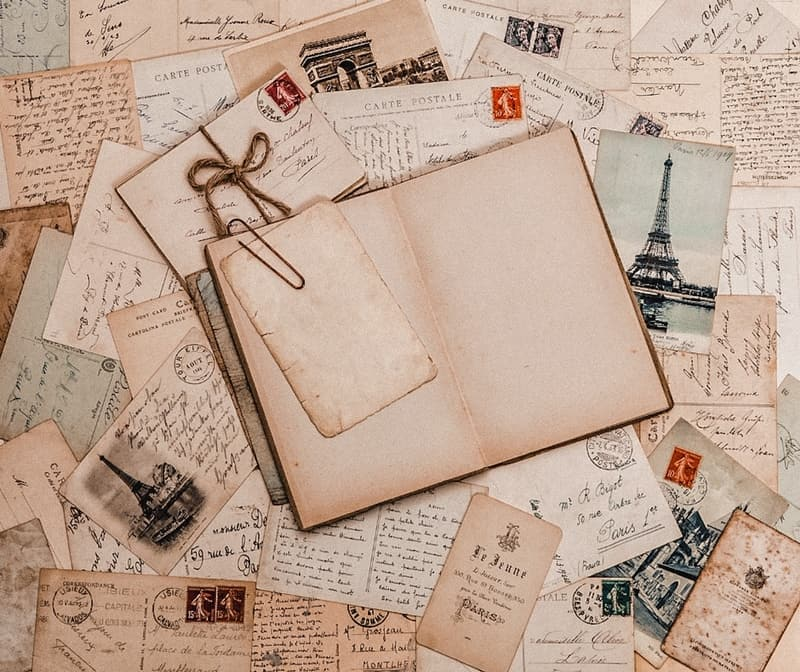 Start a travel scrap book