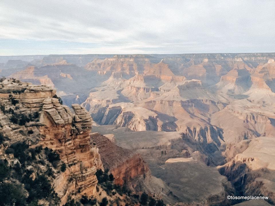 Views of Grand Canyon south rim