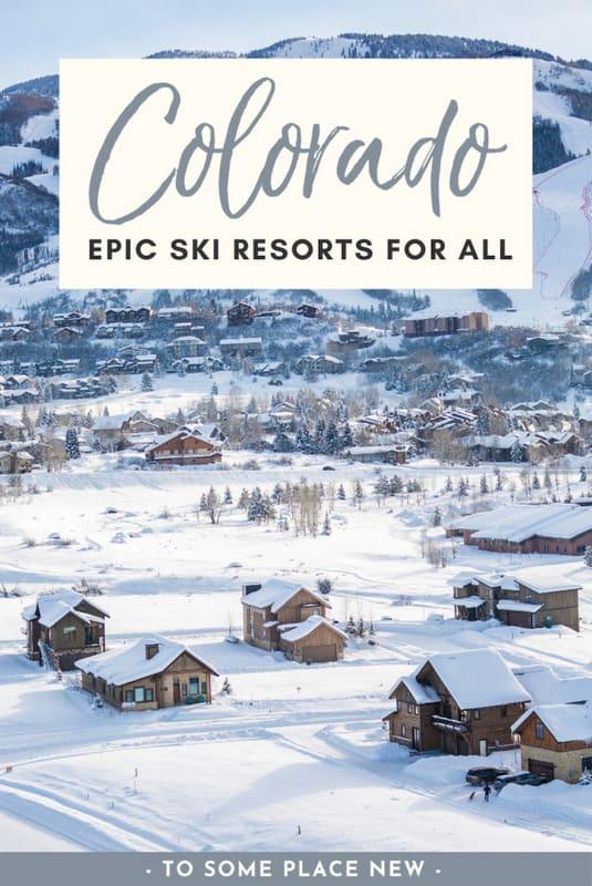 Pin for Colorado Ski Resorts