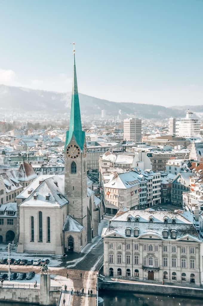 Visiting Zurich in winter? Here is an expert guide to sightseeing tips so that you are covered for things to do in Zurich in winter!