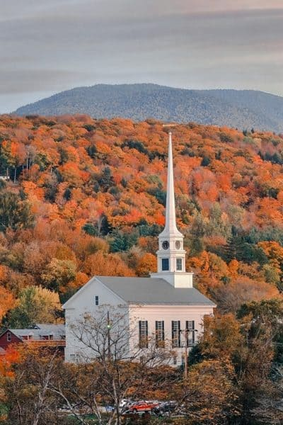 Vermont USA Bucket list 50 states checklist