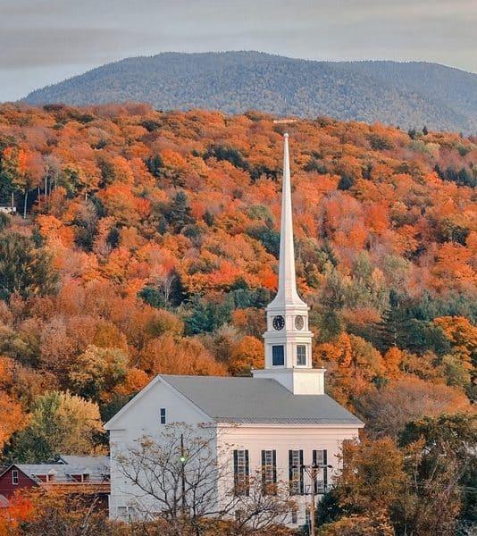 Vermont USA Bucket list 50 states checklist