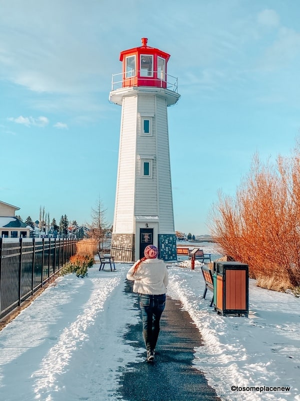 Sylvan Lake Best places to visit in Canada in winter