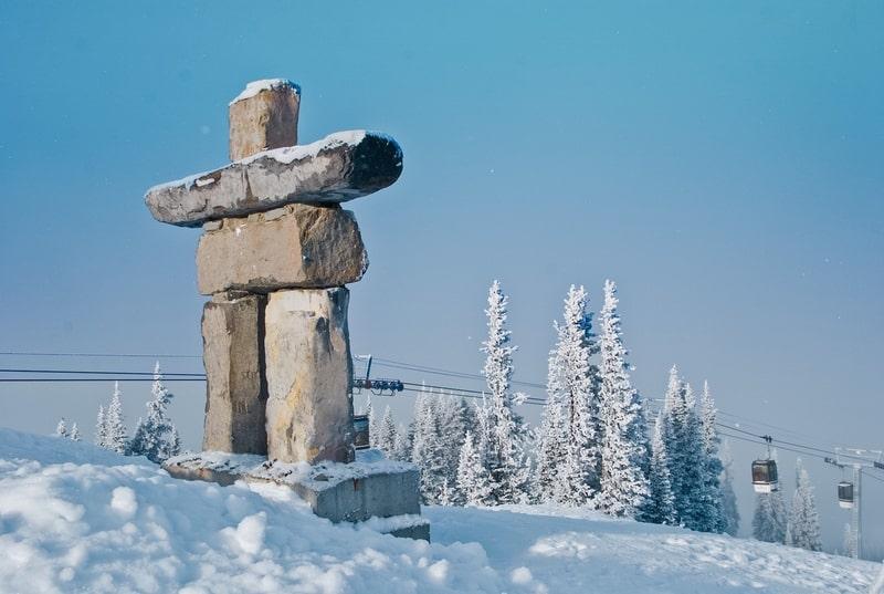 Whistler in winter