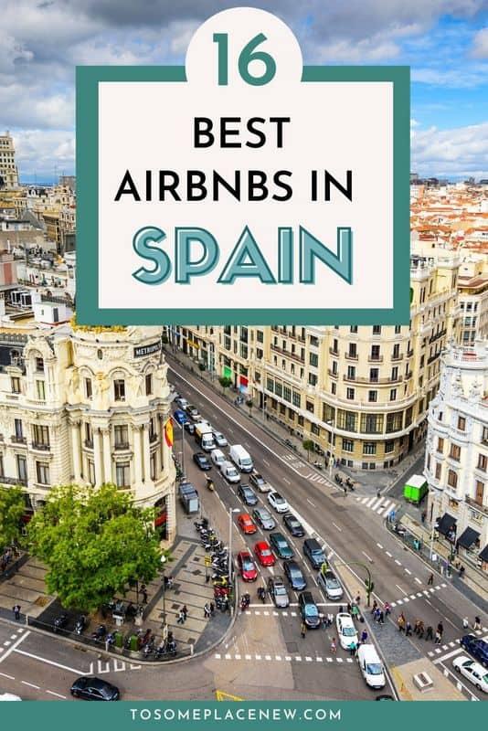 Pin on Best Airbnbs in Spain