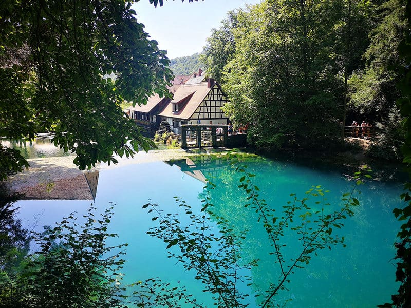 Blautopf views