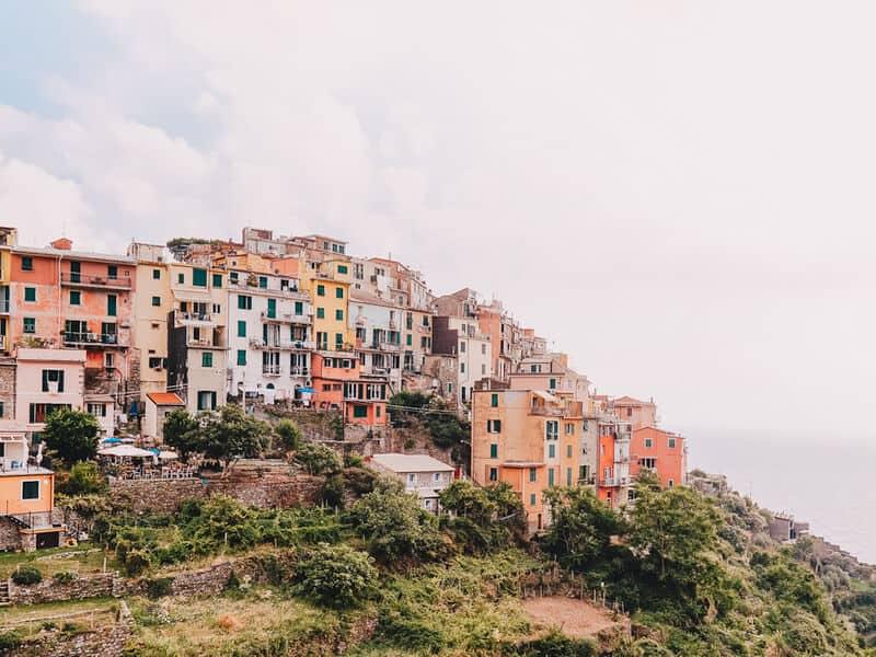 Corniglia Italian Riviera town
