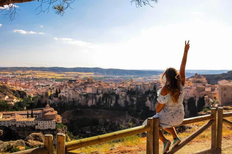 Views of Cuenca Spain