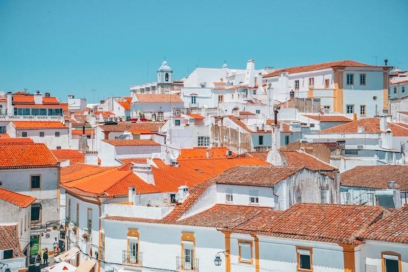 Views of Evora