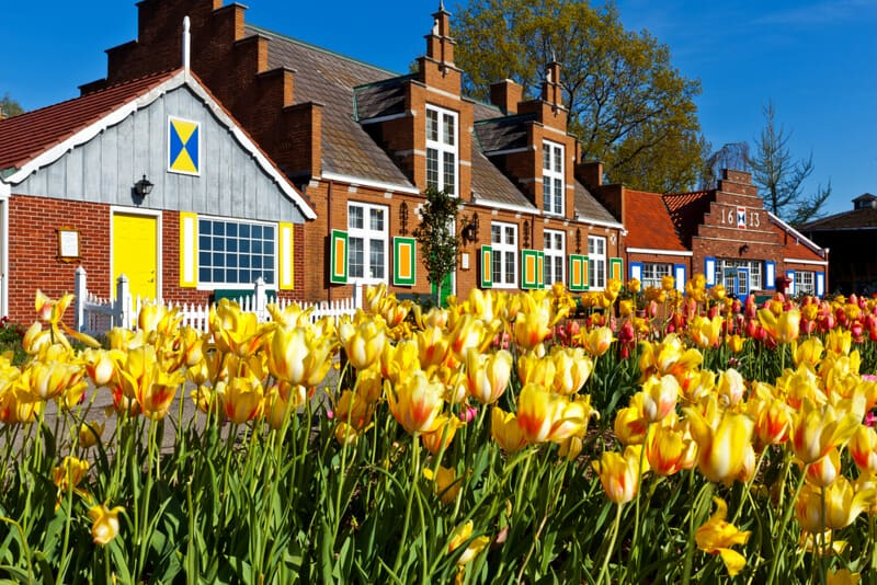 Windmills Village in Holland Michigan European cities in America