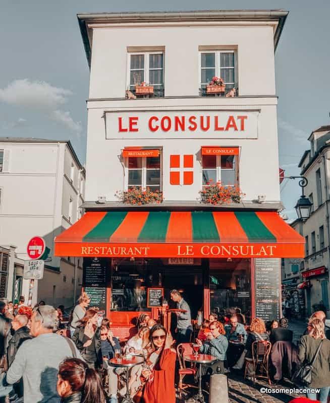 Le Consultat Montmartre Paris France itinerary