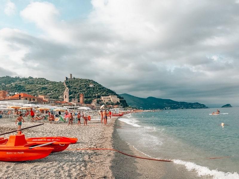 Italian town of Noli