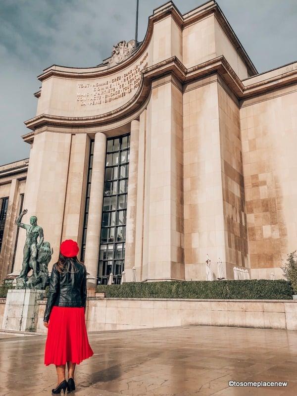 Exploring the museum in Trocadero - Visit in 3 days in Paris