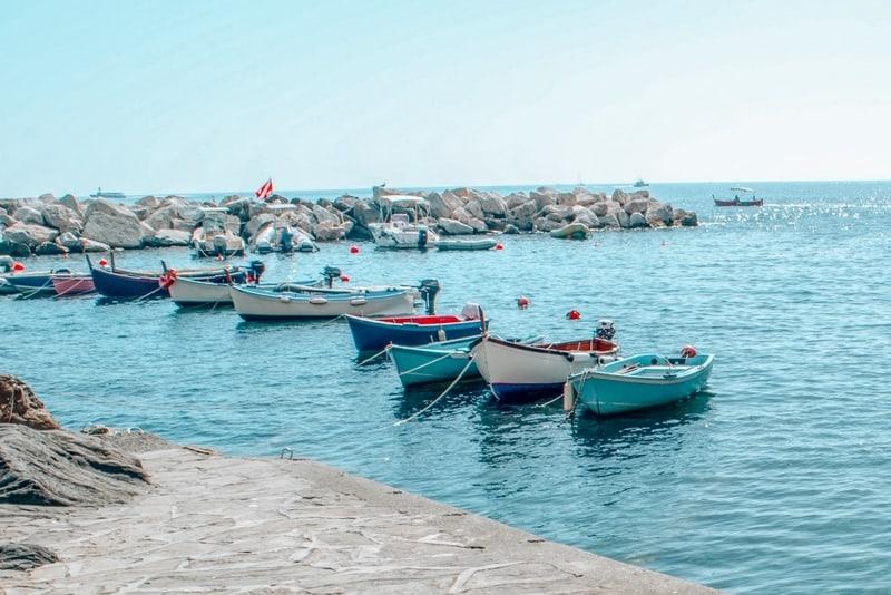 Italian Riviera Town Riomaggiore