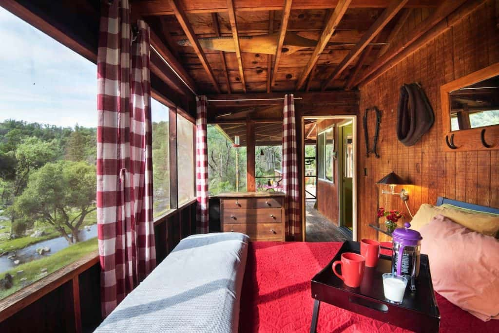 River Cabin at JWP Ranch Yosemite Airbnb