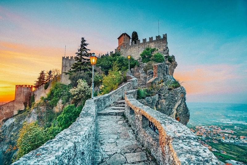 San Marino: European microtates