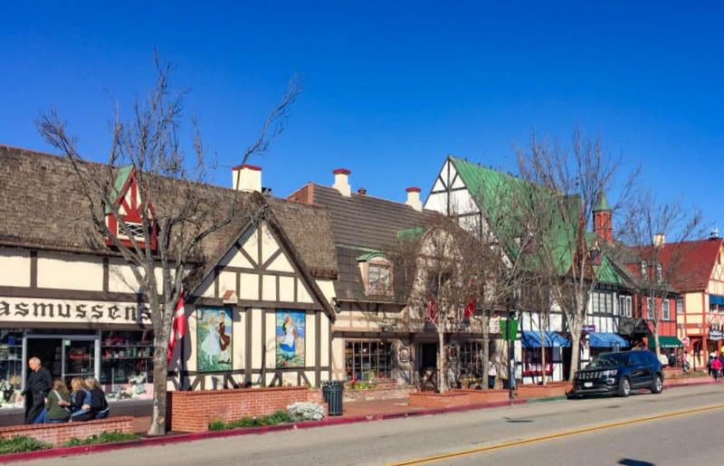 Danish village of Solvang California