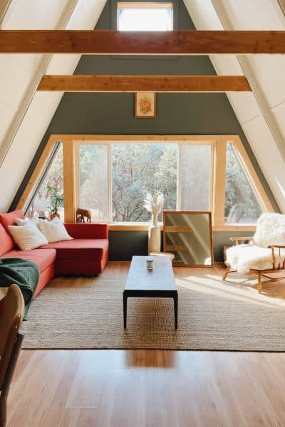 The Winnie A-frame Best Airbnbs in Yosemite