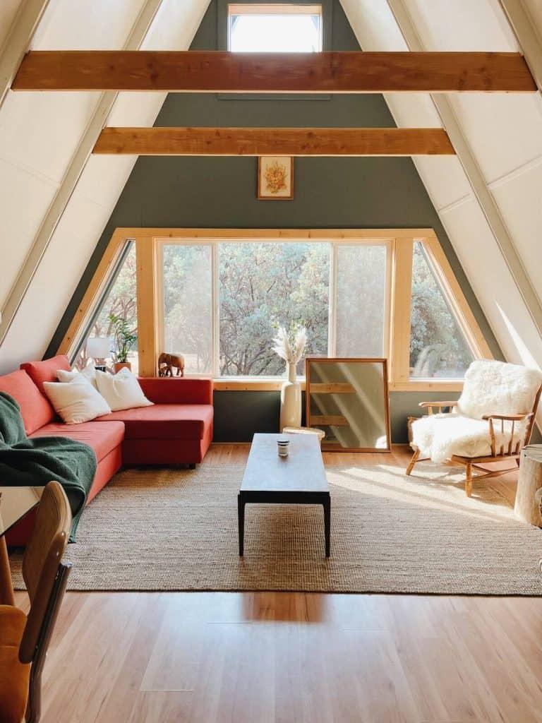 The Winnie A-frame Best Airbnbs in Yosemite