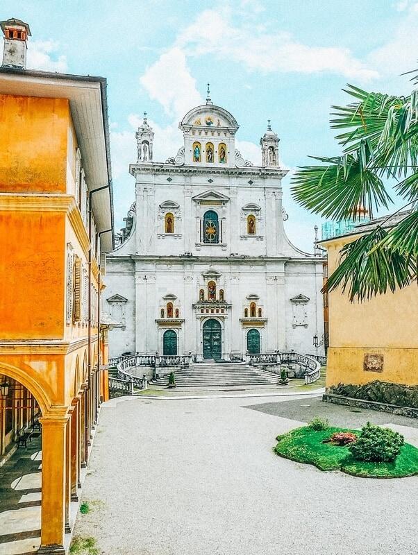 Views of Varrallo Italy