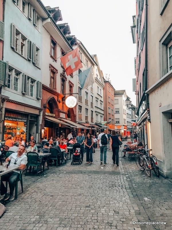 Old town Zurich exploration