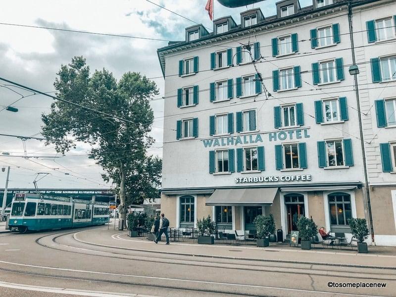 Zurich Main Train Station