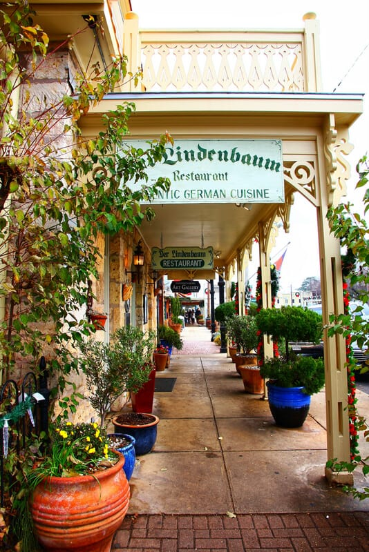 fredericksburg texas picture of a German store