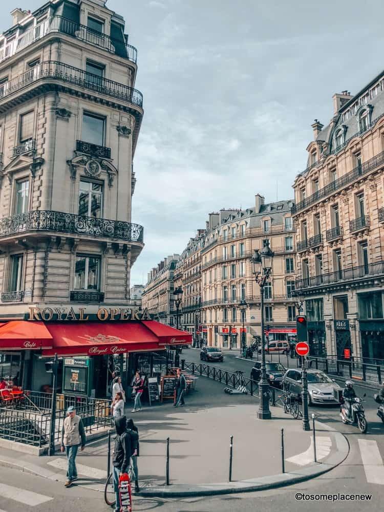 Beautiful Parisian lanes