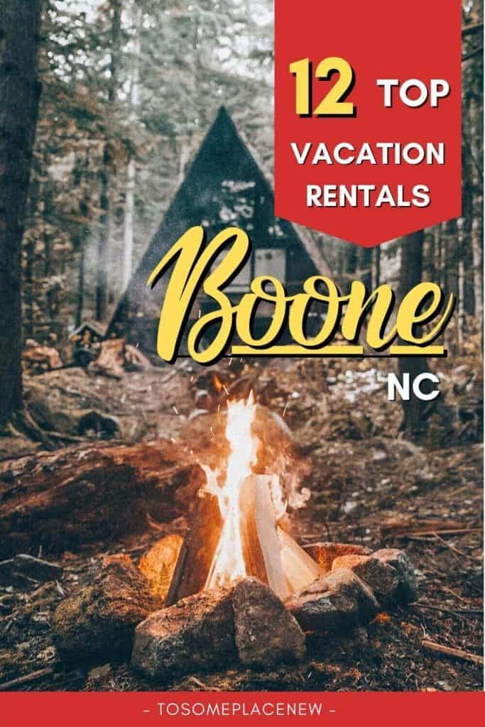 Pin for Best Airbnbs in Boone NC