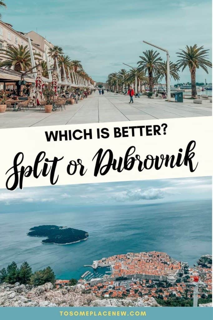 This post discusses which is better - Dubrovnik or Split - we have reviewed factors from sightseeing, budget, nightlife, etc to offer the best advice