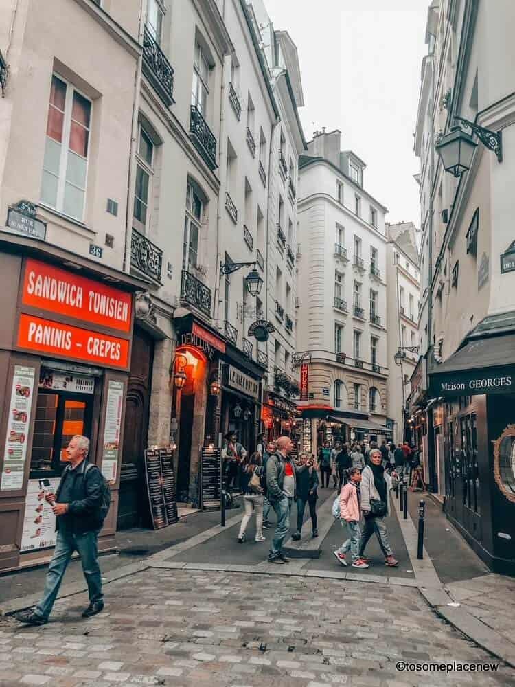 Latin Quarter Cafes Paris