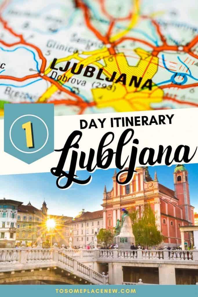 Pin for one day in Ljubljana
