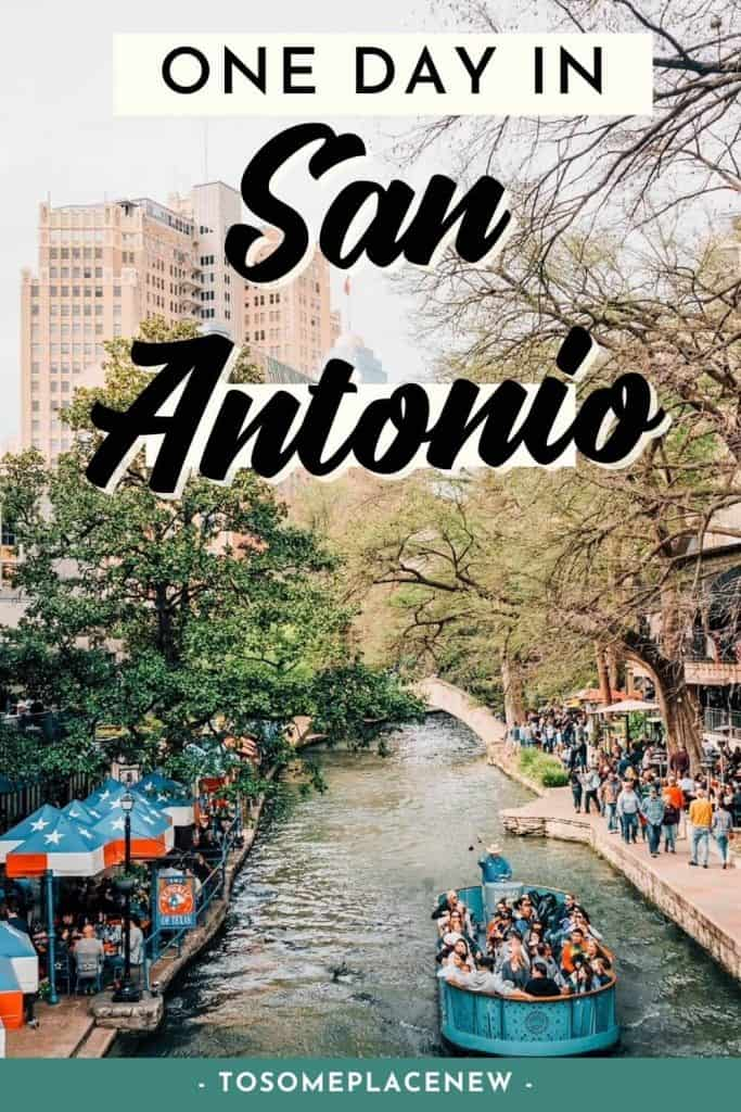 Pin for things to do in San Antonio