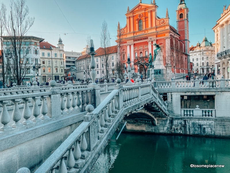 Triple Bridge in Ljubljana