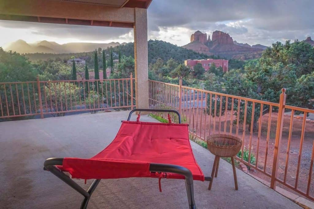 Views from the Wonder Suite in Sedona